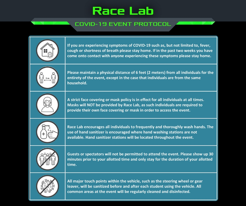 Race Lab COVID-19 Event Protocol